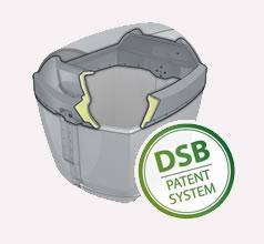 Contenedores de superficie Formato Verde y de carga lateral de larga duración, 3.200L Big Bin 3.2
