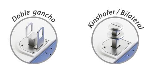 Contenedores de superficie Formato Verde KINSHOFER/BILATERAL de larga duración, 3.000L. BACK BIN
