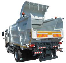 Equipos de recogida de residuos urbanos Tecno KUNI