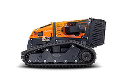 Robot cortacésped con mando a distancia ROBOMINI para trabajos forestales