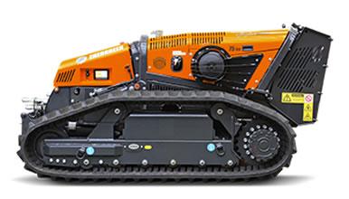 Robot multifunción radiocontrolado ROBOMAX para trabajos forestales
