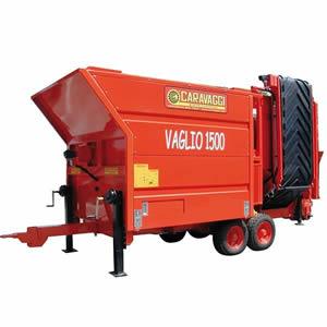 Maquinaria para compostaje y máquinas Cribadoras VAGLIO de Caravaggi