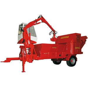 Maquinaria para compostaje y máquinas trituradoras CARAVAGGI