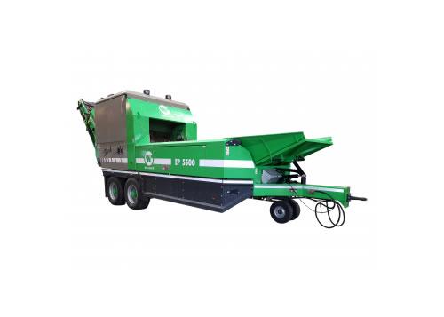 Maquinaria para compostaje y máquinas trituradoras, cribadoras y volteadoras WILLIBALD MINI SHARK