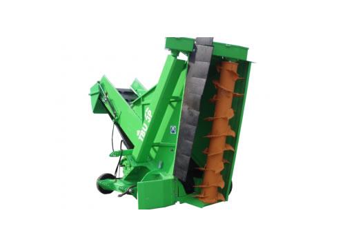 Maquinaria para compostaje y máquinas trituradoras, cribadoras y volteadoras WILLIBALD TBU 3P