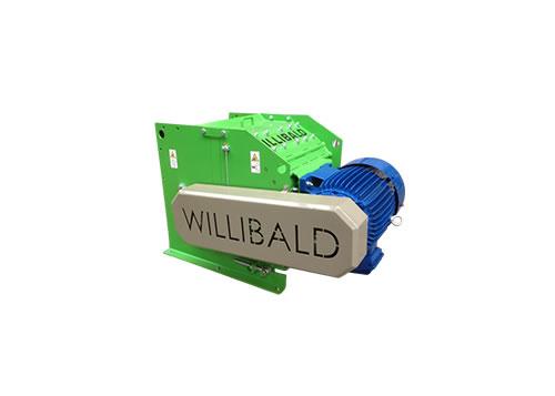 Maquinaria para compostaje y máquinas trituradoras, cribadoras y volteadoras WILLIBALD UZ 80