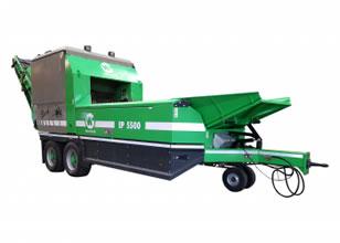 Maquinaria para compostaje y máquinas trituradoras, cribadoras y volteadoras WILLIBALD SHARK EP 550