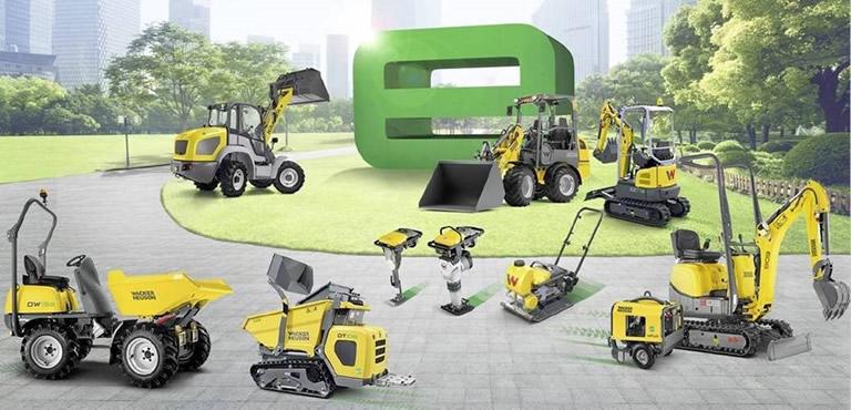 Maquinaria de construcción eléctrica ZERO EMISIONES