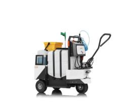 Cubo de barrendero y desinfectante 100% eléctrico CUBO SANYSPRAY 120