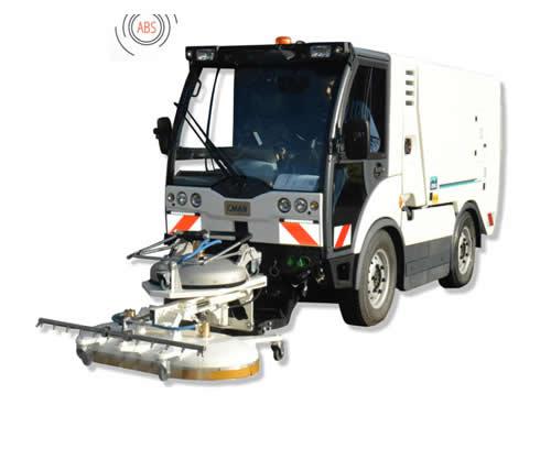 Decapadora baldeadora de agua caliente CMAR LD 2500