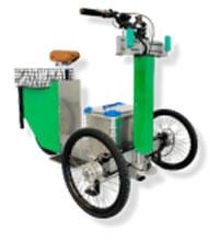 Triciclo 100% eléctrico para servicios municipales, reparto de mercancías y ocio SMARTWORKER SW 3