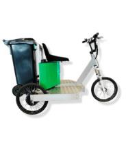 Triciclo 100% eléctrico ligero para servicios municipales, reparto de mercancías y ocio SMARTWORKER SW BASIC