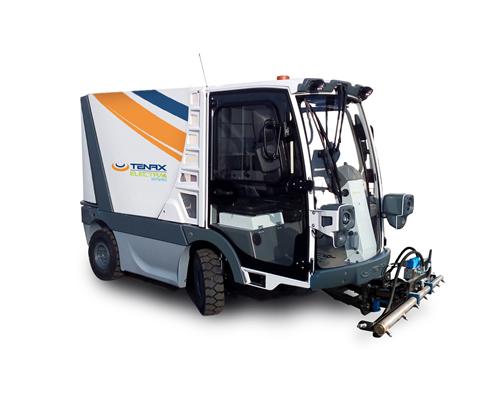 Baldeadora para limpieza viaria compacta ELECTRA 2.0 HYDRO