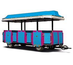 Trenes turísticos para ocio urbano - Línea A 86