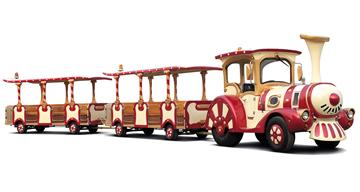 Trenes turísticos para ocio urbano BIG COAST TO COAST