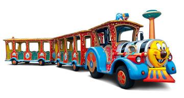 Trenes turísticos para ocio urbano CIRCUS