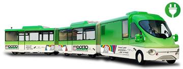 Trenes turísticos para ocio urbano DOTTOBUS ENCLOSED ELECTRIC