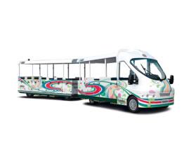 Trenes turísticos para ocio urbano - Línea moderna