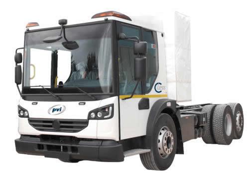 Camión 100% eléctrico PVI C.LESS