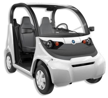 Coche para el transporte de personas 100 % eléctrico GEM e2 (Polaris)