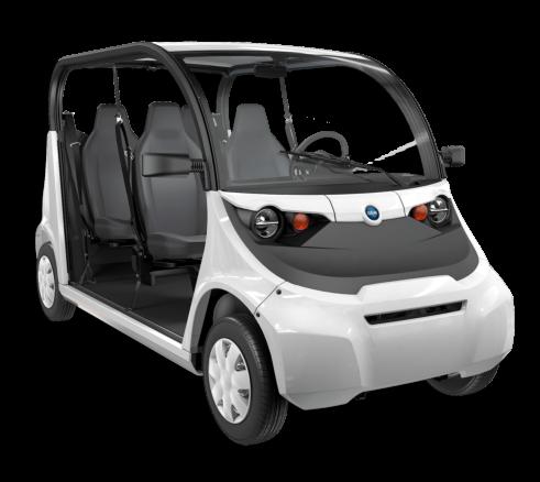 Coche para el transporte de personas 100 % eléctrico GEM e4 (Polaris)