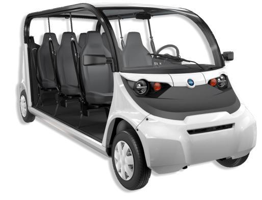Coche para el transporte de personas 100 % eléctrico GEM e6 (Polaris)