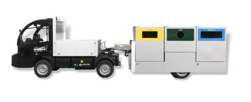 Tractoras eléctricas para servicios y semirremolques URBACLIC