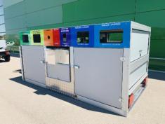Punto limpio móvil para recogida de residuos URBACLIC SNPLM