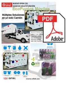Vehículos para trabajos de mantenimiento carrozados C31 ECO Puntos móviles