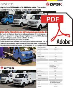 Vehículos para trabajos de mantenimiento carrozados DSFK C31