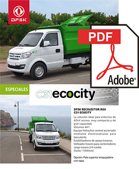 Vehículos para trabajos de mantenimiento carrozados C31 EcoCity