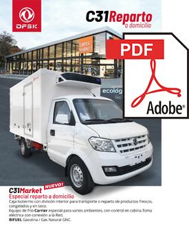 Vehículos para trabajos de mantenimiento carrozados C31 Reparto