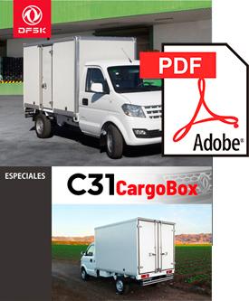 Vehículos para trabajos de mantenimiento carrozados C31 CargoBox