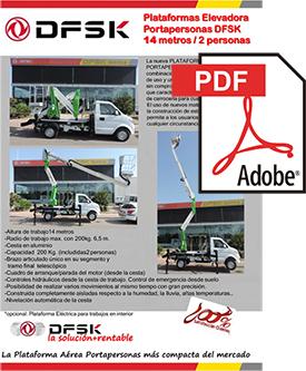 Vehículos para trabajos de mantenimiento carrozados DSFK