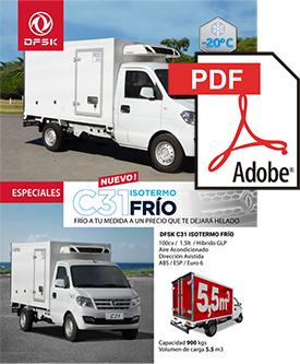 Vehículos para trabajos de mantenimiento carrozados C31 Frío ISOTERMO