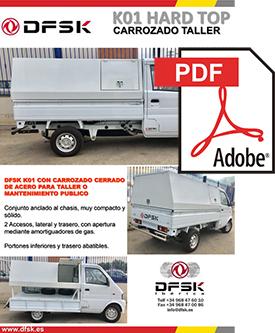 Vehículos para trabajos de mantenimiento carrozados Serie K01H HARD TOP