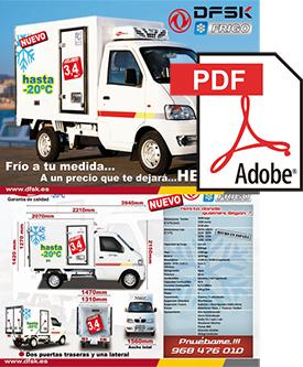 Vehículos para trabajos de mantenimiento carrozados Serie K01H Frío